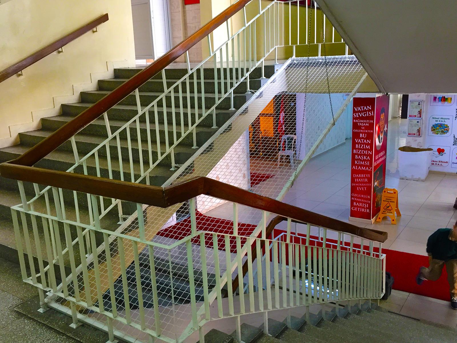 School Ladder Net