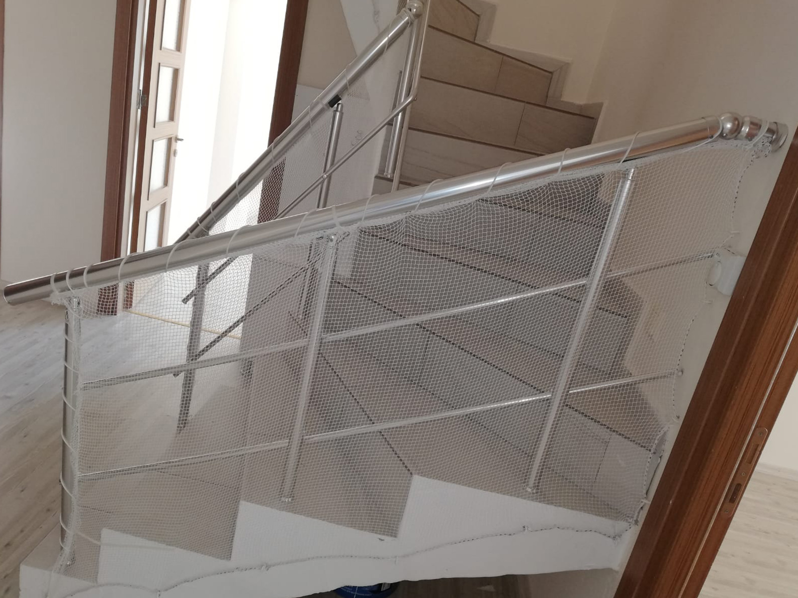 Merdiven Güvenlik Fileleri