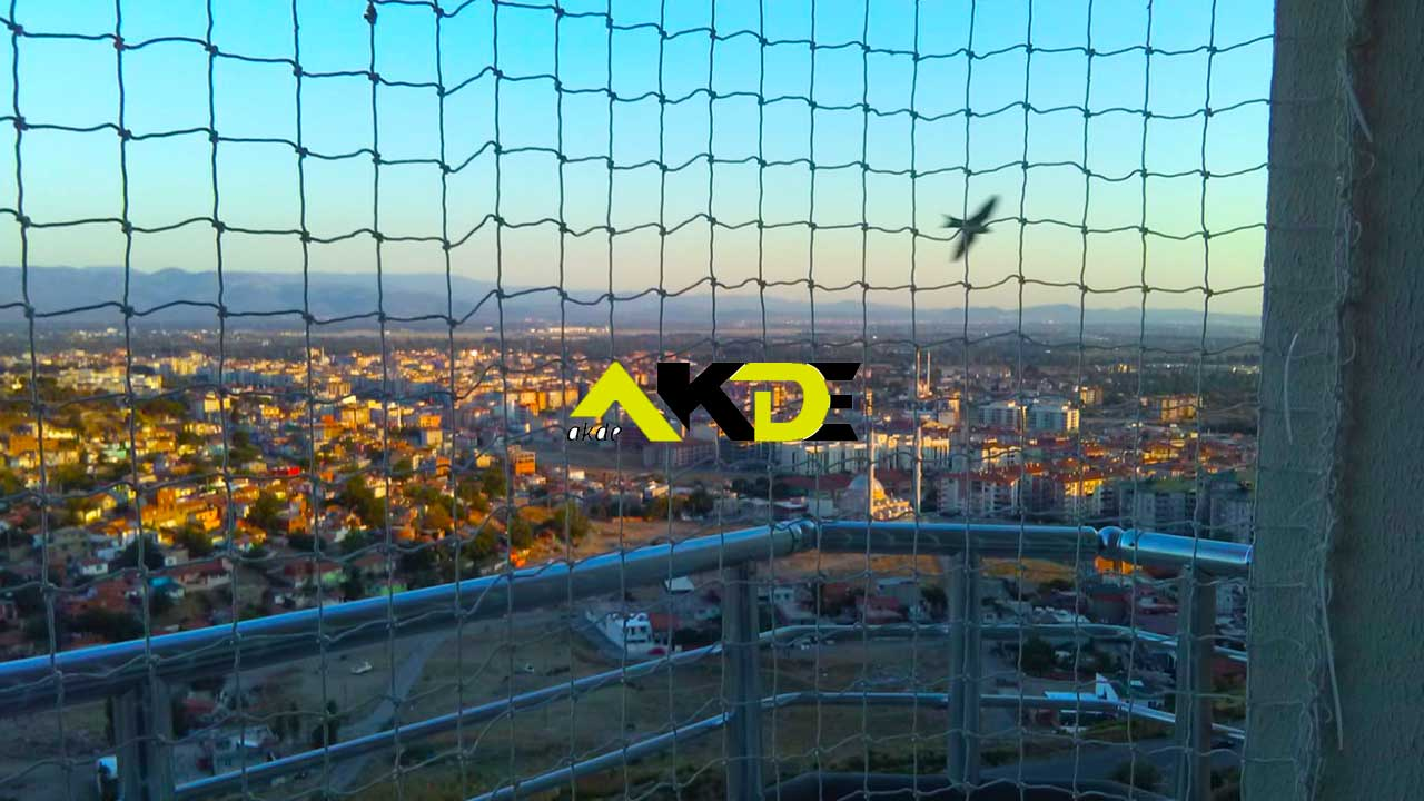 İstanbul Balkon Güvenlik Ağı Filesi